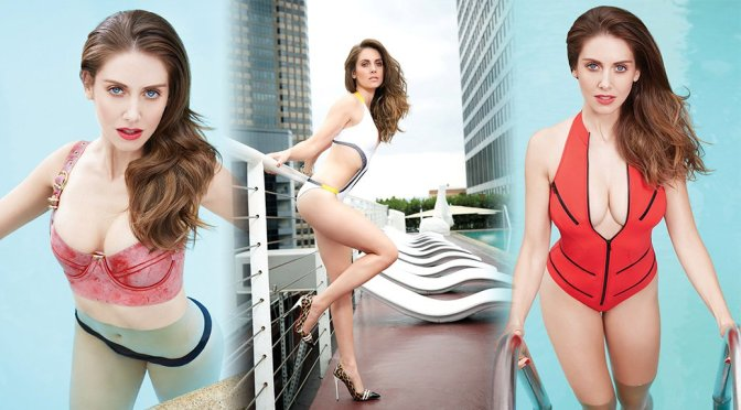 Alison Brie – GQ Mexico magazine Photoshoot (March 2015)