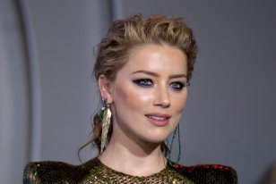 Amber Heard Sexy And Pantyless