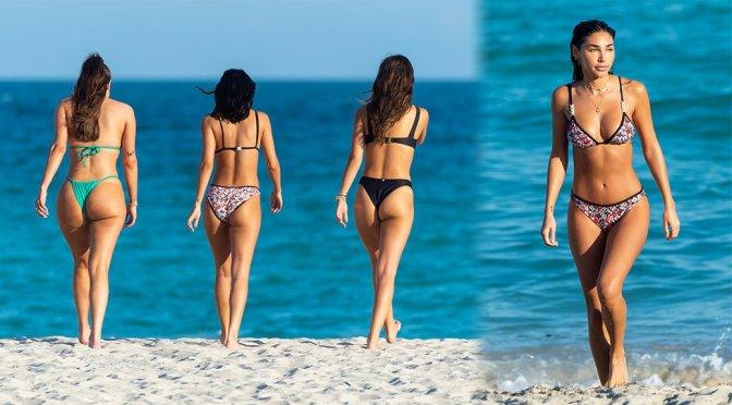 Chantel Jeffries – Bikini Candids at the Beach in Miami