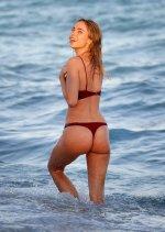 Kimberley Garner Hot Body In Thong Bikini
