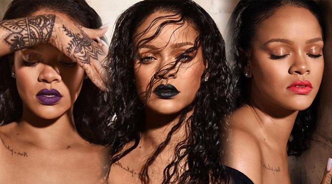 Rihanna – Fenty Beauty Mattemoiselle 2018 Photoshoot