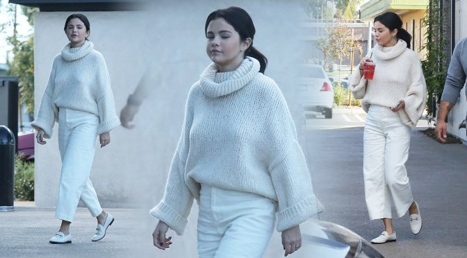 Selena Gomez – Sexy Braless Candids in Los Angeles