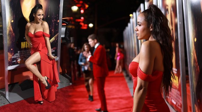 "Dania Ramirez – ""Miss Bala"" premiere in Los Angeles"