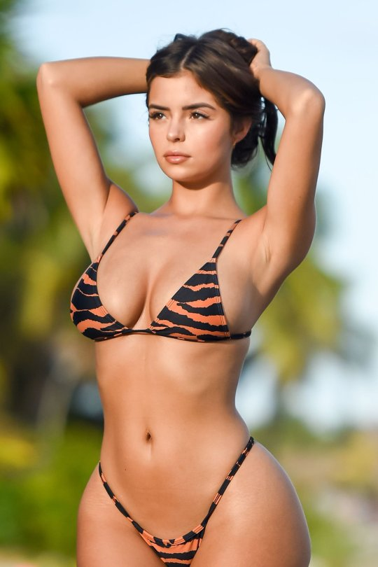 Demi Rose Mawby Perfect Curvy Body