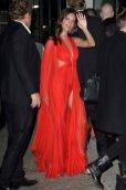 Emily Ratajkowski Sexy In Red Dress