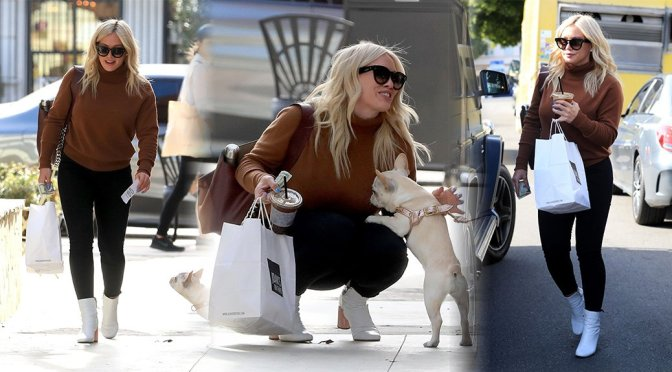 Hilary Duff – Candids at Joan's on Third in Studio City
