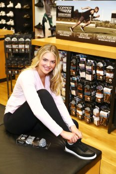 Kate Upton Very Pretty at Copper Fit promotion