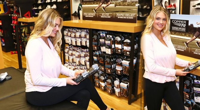 Kate Upton – Copper Fit Promotion at Dicks Sporting Goods in El Segundo