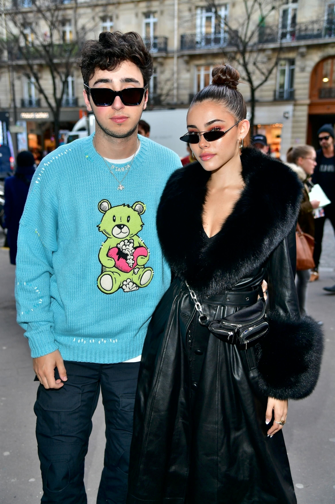 Madison Beer – Amiri Fashion Show in Paris
