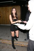Madison Beer Sexy Little Black Dress