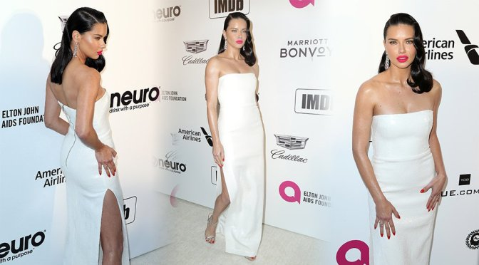 Adriana Lima – 27th Annual Elton John AIDS Foundation Academy Awards Viewing Party