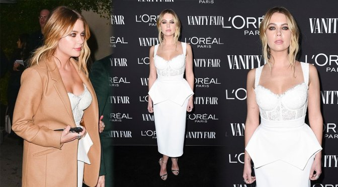 Ashley Benson – Vanity Fair and L'Oreal Paris Celebrate New Hollywood in Los Angeles