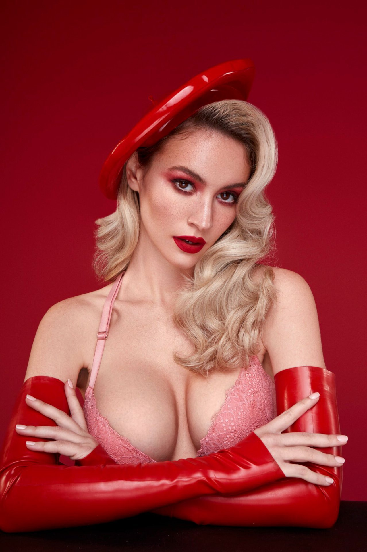 Bryana Holly – Valentine's Day Lingerie Photoshoot
