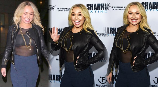 """Hayden PanettIere -""""Sharkwater Extinction"""" Premiere in Hollywood"""