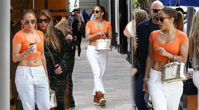Jennifer Lopez – Sexy Candids in Miami