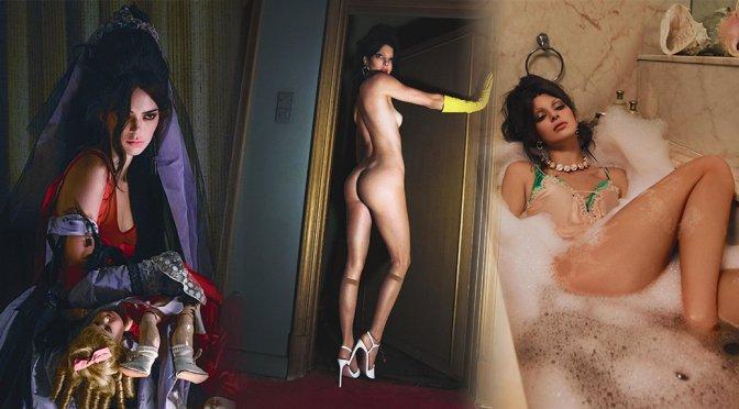 Kendall Jenner – Vogue Italy Magazine Naked Photoshoot (February 2019)