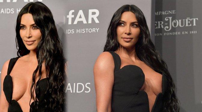 Kim Kardashian – amfAR New York Gala 2019