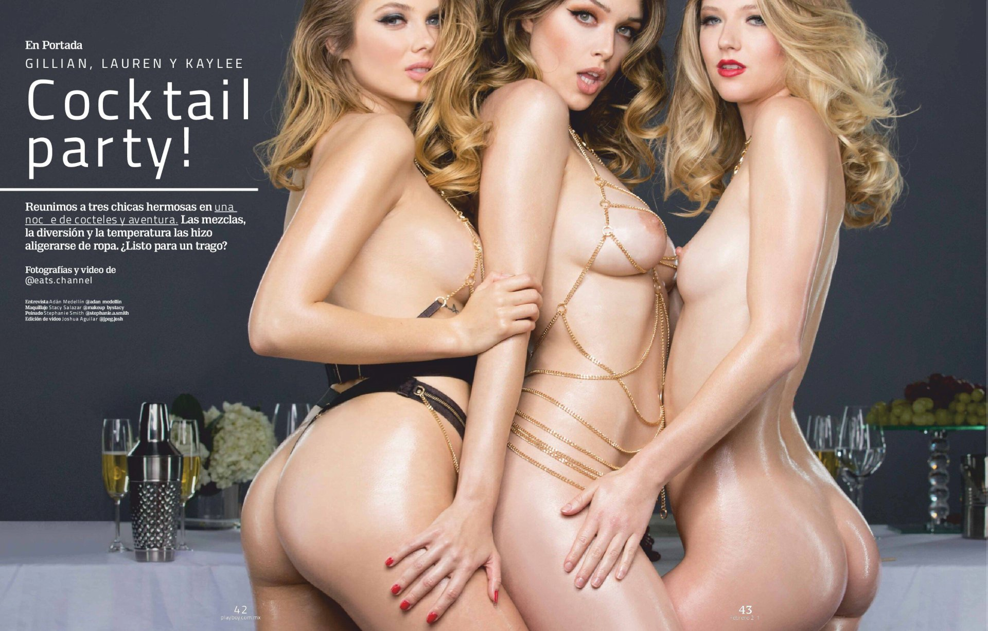 Lauren Summer Kaylee Killion Gillian Nation Naked