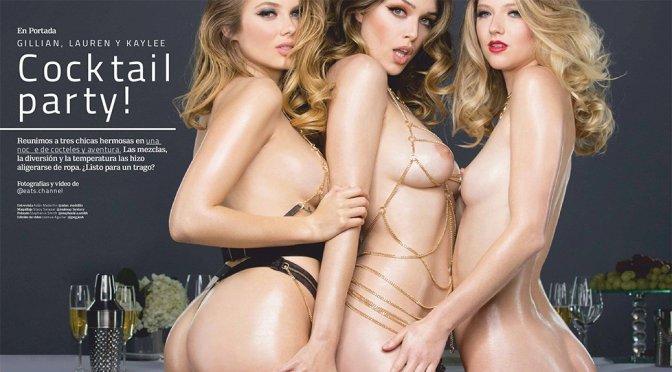 Lauren Summer, Kaylee Killion, GIllian Nation – Playboy Mexico magazine Naked Photoshoot (February 2018) (NSFW)