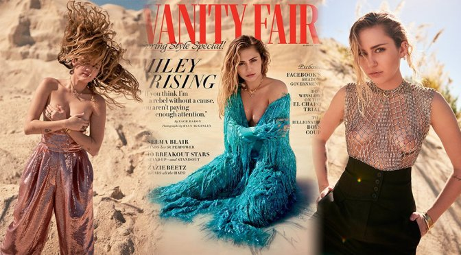 Miley Cyrus – Vanity Fair Magazine Photoshoot (March 2019)