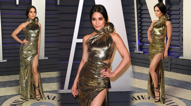 Vanessa Hudgens – 2019 Vanity Fair Oscar Party in Beverly Hills