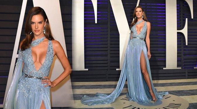 Alessandra Ambrosio – 2019 Vanity Fair Oscar Party in Beverly Hills
