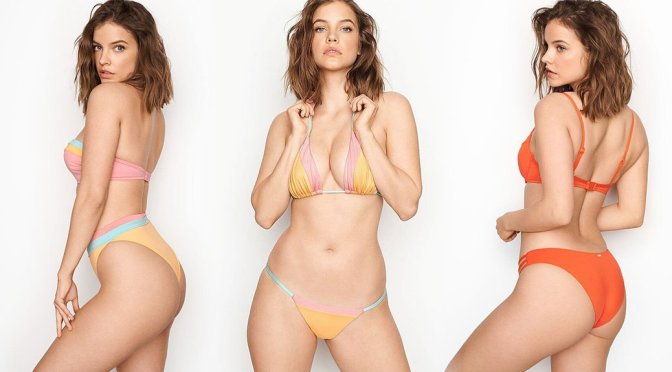 Barbara Palvin – Victoria's Secret Swimwear Photoshoot
