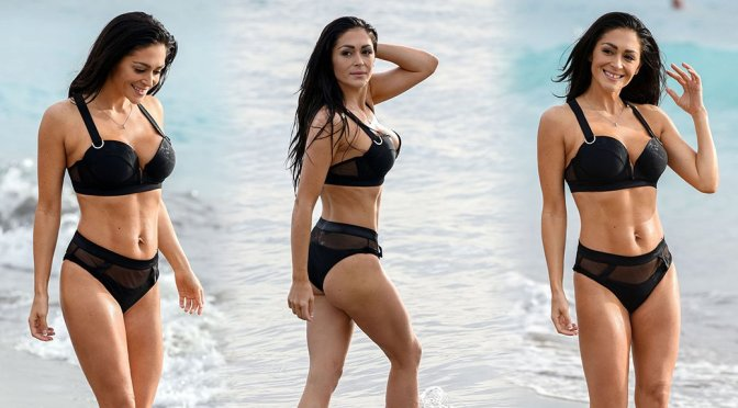 Casey Batchelor – Bikini Photoshoot in Tenerife