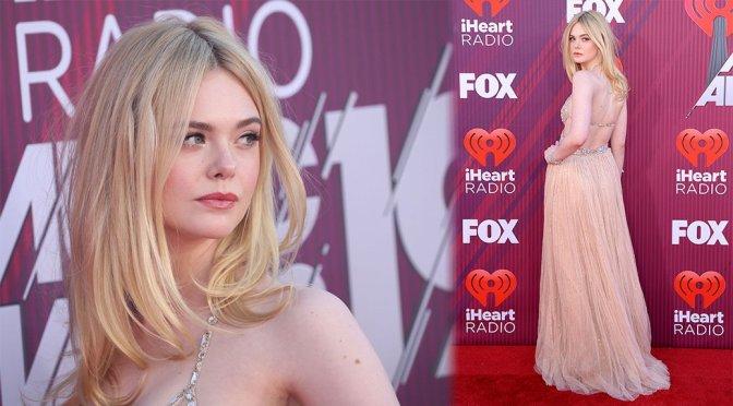 Elle Fanning – iHeartRadio Music Awards in Los Angeles