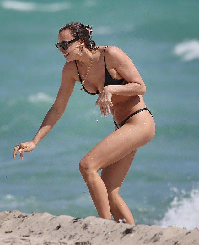 Irina Shayk Tiny Bikini
