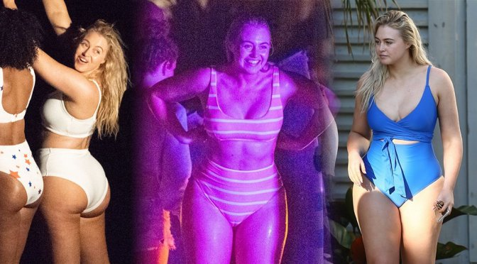 Iskra Lawrence – Bikini Photoshoot Candids in Miami Beach