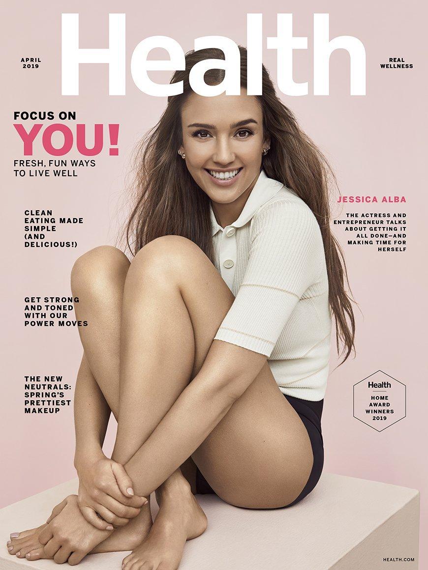 Jessica Alba – Health Magazine Photoshoot (April 2019)