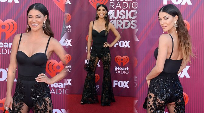 Jessica Szohr – 2019 iHeartRadio Music Awards in Los Angeles
