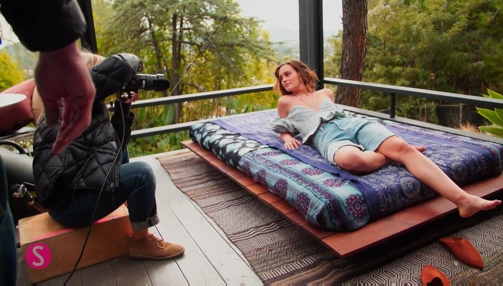 Leighton Meester Sexy Photoshoot