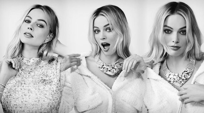 Margot Robbie – Sexy  Chanel Photoshoot