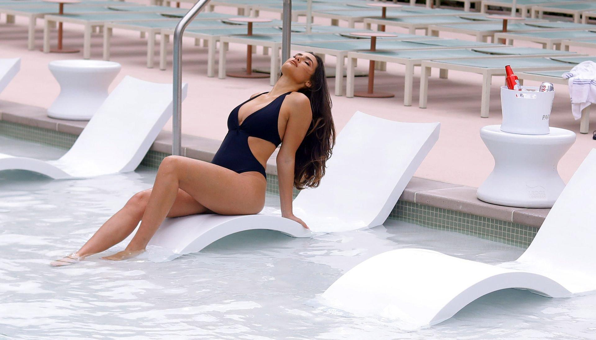 Tao Wickratj Sexy Swimsuit