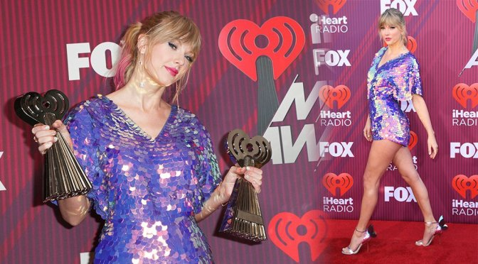 Taylor Swift – iHeartRadio Music Awards in Los Angeles