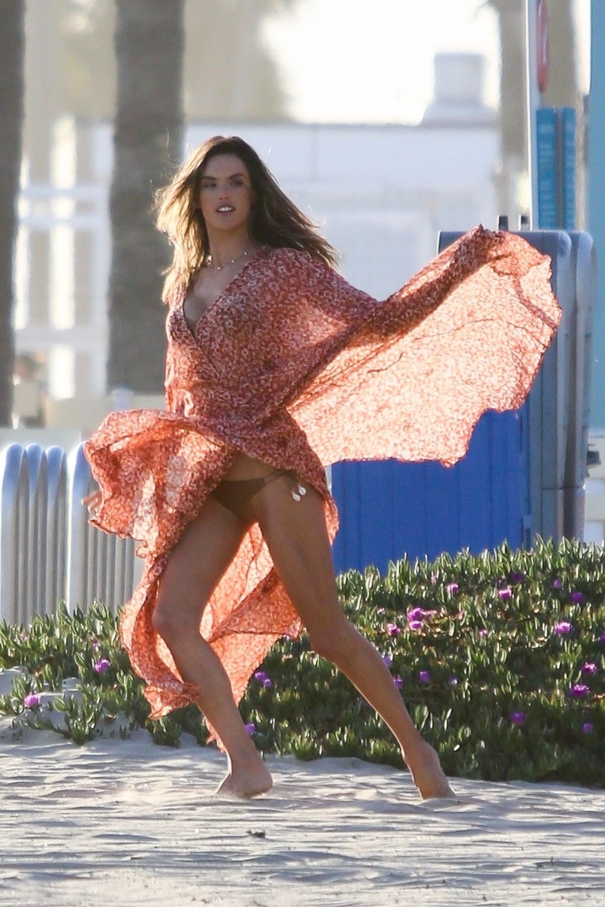 Alessandra Ambrosio Hot Bikini Photoshoot