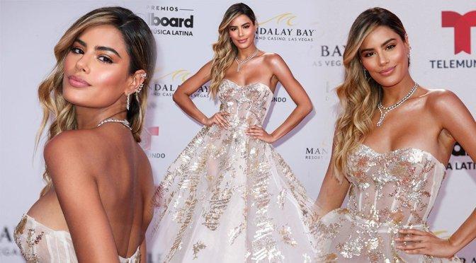 Ariadna Gutierrez – 2019 Billboard Latin Music Awards Press Room in Las Vegas