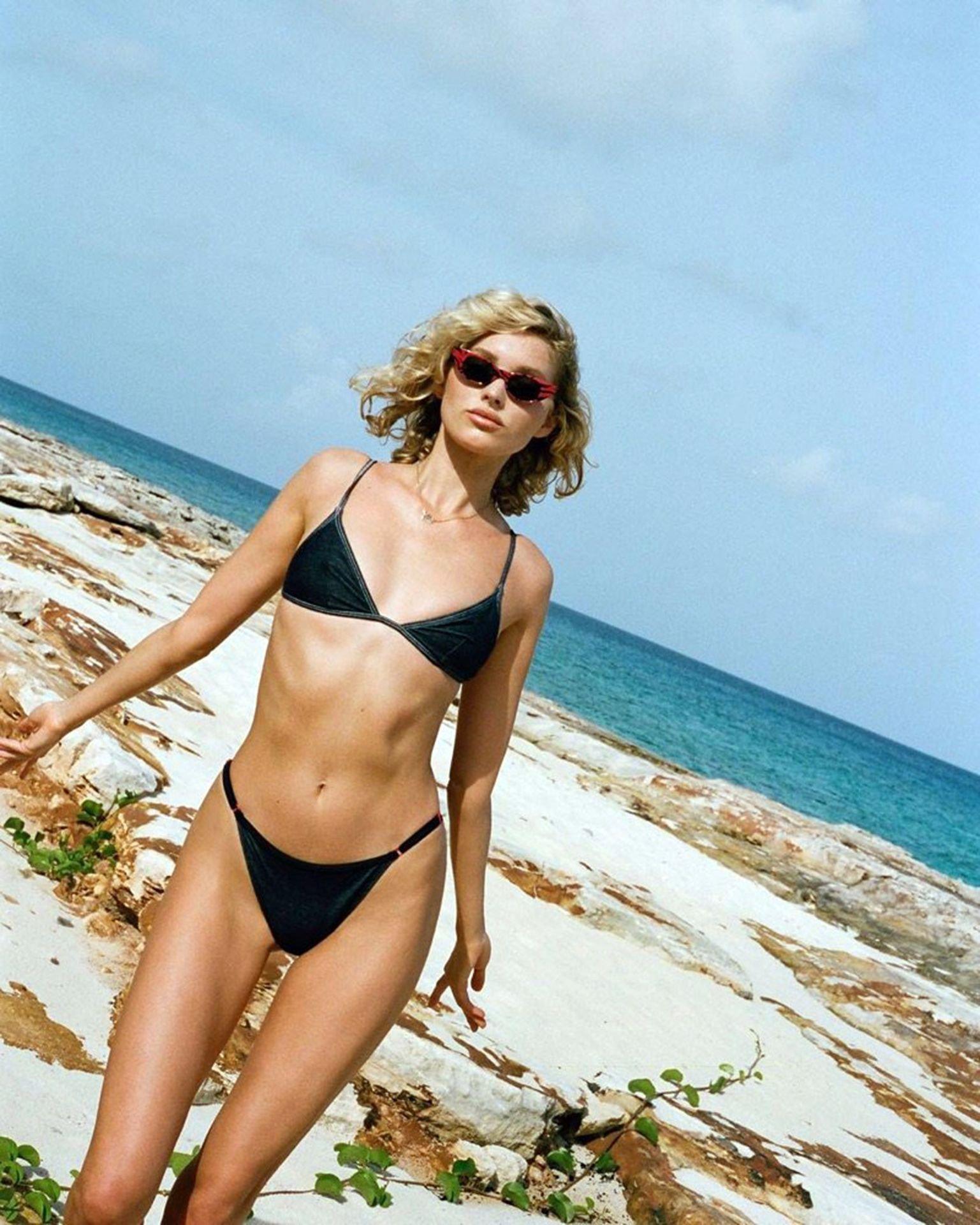Elsa Hosk And Georgia Fowler Bikini Photoshoot