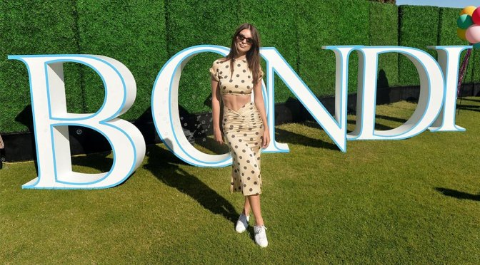 Emily Ratajkowski – Bondi Sands Aero Launch Party in Palm Springs