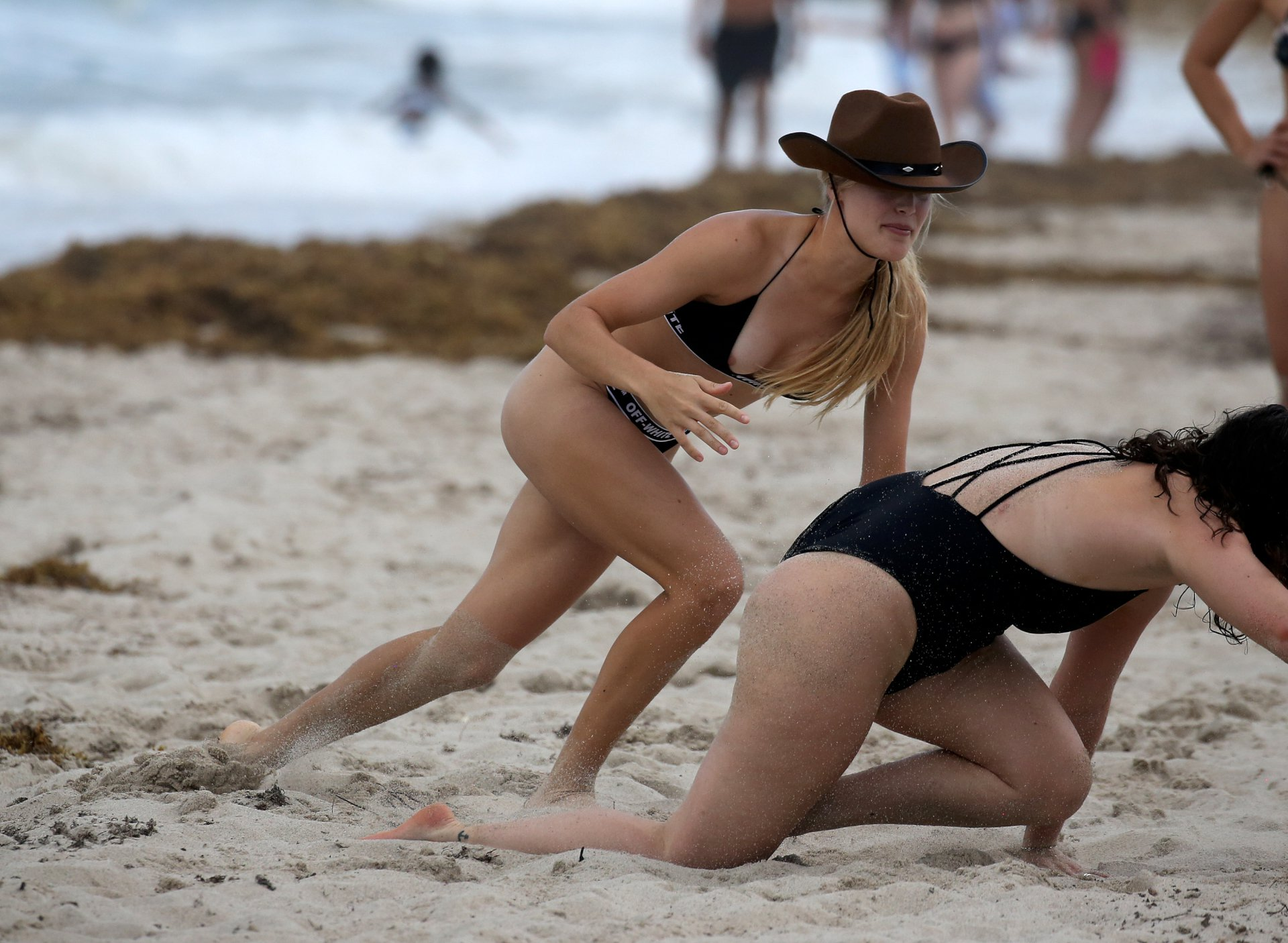 Eugenie Bouchard Sexy Nipslip