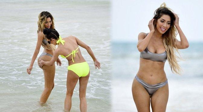 Farrah Abraham – Bikini Candids in Mexico