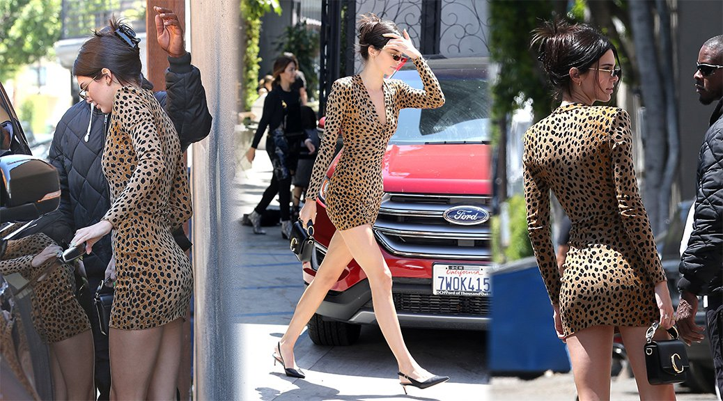 Kendall Jenner - Sexy Candids in Beverly Hills