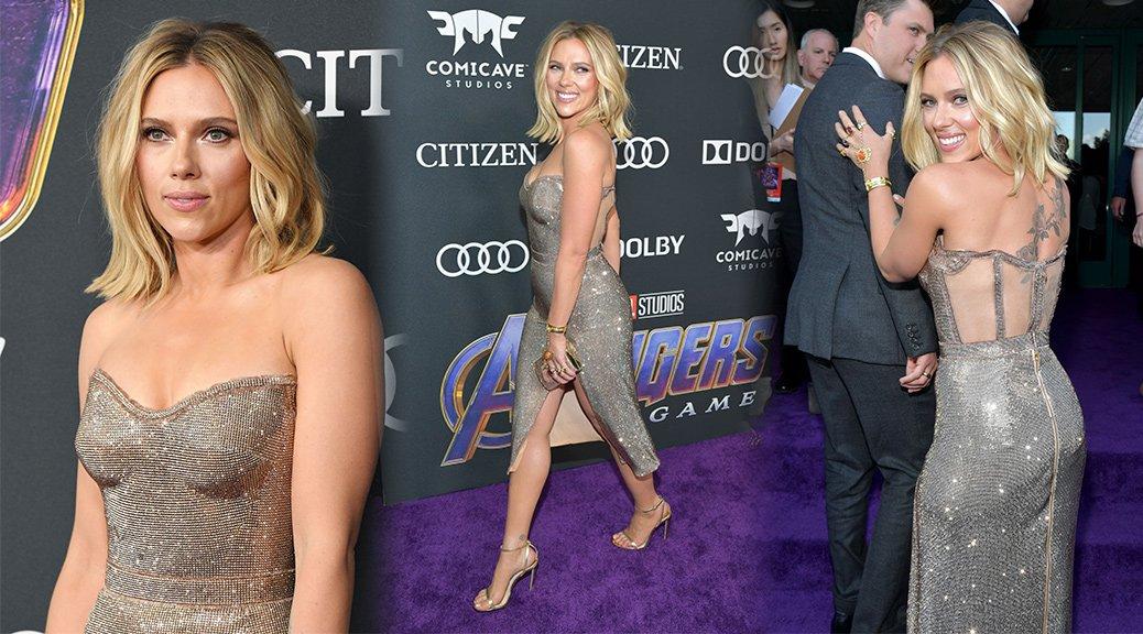 """Scarlett Johansson - """"Avengers: Endgame"""" premiere in Los Angeles"""