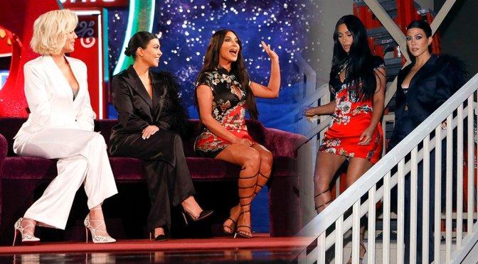 "Kim, Kourtney, & Khloe Kardashian on ""Jimmy Kimmel Live"" in Las Vegas"