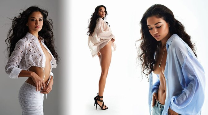 Shanina Shaik Hot Almost Naked Pictures