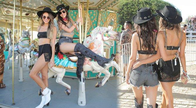 Victoria Justice & Madison Reed – Revolve Party at Coachella in La Quinta