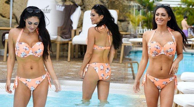 Casey Batchelor – Bikini Photoshoot in Tenerife