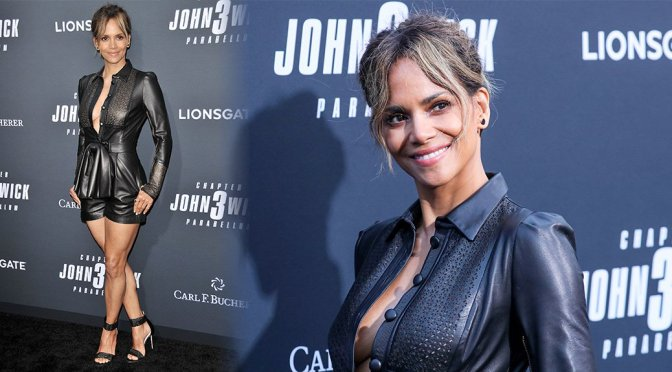 "Halle Berry – ""John Wick: Chapter 3 – Parabellum"" Premiere in Hollywood"